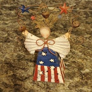 Vinetage Home Interior & gifts Patriotic girl
